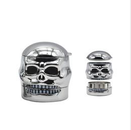 $enCountryForm.capitalKeyWord NZ - Manufacturers direct wholesale foreign trade ghosthead three-layer removable smoke grinder skull head metal sharp teeth smoke grinder