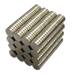 Rare Earth Magnet 8mm Australia - 50 Pieces 8mm x 2mm Rare Earth NdFeB Magnet Neodymium N50 Disc Round Cylinder Fridge Magnets