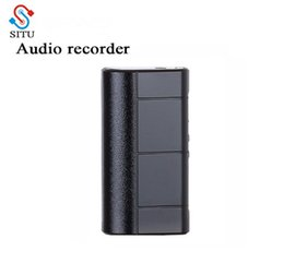 Long Time Recorder Australia - SITU Audio Recorder Dictaphone 8GB Sound Recording Long Record Time about 280 hours Powerful magnet Clip LED Light