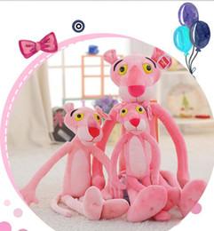 $enCountryForm.capitalKeyWord Australia - 28# Factory direct fashion Aojieer brand dolls playful pink leopard doll pink leopard plush toy dolls boys and girls holiday ceremony 100cm