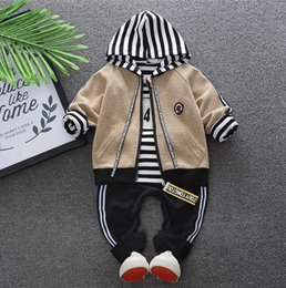 18 Month Old Clothes Australia - Baby 2019 Boys and Girls'Clothes 2019 New Spring Clothes Kids 0-4 Years Old Korean Baby Sports Headphone Suit