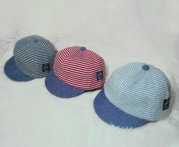$enCountryForm.capitalKeyWord Australia - Children's flat hat bat embroidery hip hop hat boys and girls mini sunshade flat hat explosion models welcome to order