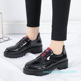 women wedges pumps casual shoes Canada - Xiaying Smile Heel Pumps New Fashion Casual Shoes Women Spring Autumn Concise Hell Platform Lace-up Wedges Pumps Sewing Shoes s03
