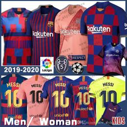 b0e624f0749 10 Messi Barcelona soccer jersey Thailand Men kids 22 VIDAL 9 SUAREZ 14  MALCOM 23 MUTITI Maillot De Football Uniforms Shirts 7 COUTINHO