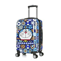 "$enCountryForm.capitalKeyWord UK - TRAVEL TALE 18""20""24"" inch hard shell Doraemon trolley travel bag kids rolling luggage suitcase"