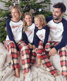 $enCountryForm.capitalKeyWord Australia - Family Christmas Sleepwear Matching Clothes for Mother Daughter Father Son Mom Baby New Year Family Look Pajamas
