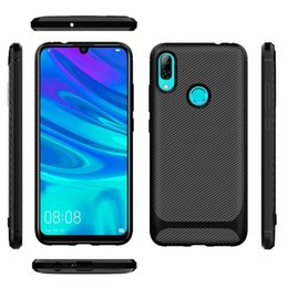 Fiber Max Australia - For iphone xs max xr x 7 8 6s plus Case Silicone Carbon Fiber ShockProof Soft TPU For samsung s10 s10e A60 A70 huawei p30 lite Cover