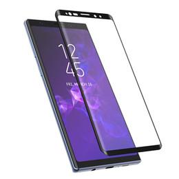 Vente en gros Verre Trempé Complet En Verre Trempé Pour Samsung Galaxy S9 S8 Plus Protecteur D'écran Note 8 Pour Samsung Note 9 Film De Protection