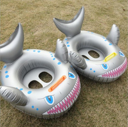 Beach Rings NZ - Shark Float Kids Inflatable Baby Toddler Swimming Whale Swim Seat Pool Fish Ring 2019 New Swimming ring