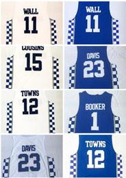 Fox wear online shopping - Kentucky College fan shop online store for sale men Basketball Wears ADEBAYO WALL COUSINS FOX Towns DAVIS Basketball Jerseys