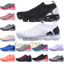 the best attitude 00683 b543b 2019 New quality 2018 mens Fashion Designer luxury Shoes Air Running Trainer  fly Sports plus fly knit men Wave Runner women Sneakers