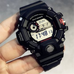 luxury watches g shock Australia - 2019 New Popular Casual Sports Man Watch With Box & Instruction World Time All Function Work Military Luxury G Style Shock Watches