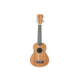 Wholesale Wooden Ukulele 21 Inch for Beginners with Bag Straps Plucked Strings Capo Wipes Unisex Type Stringed Instrument