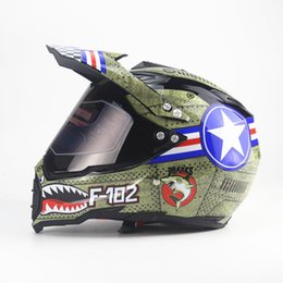 Bicycle Off Road Australia - Free Shipping ATV Bicycle motorcycle helmet Adult motocross Off Road Helmet motorbike full face moto cross helmet
