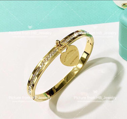 StampS for jewelry online shopping - Have stamps Popular fashion brand T Love designer Bracelets for lady Design Women Party Wedding Lovers gift Luxury Jewelry With for Bride