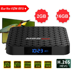 Best Android Media Box Australia - best M9S MAX Amlogic S905w Android TV Box M9SMAX 2GB 16GB WiFi Lan 4k ultra smart tv streaming boxes Cutsom Logo television Media player 4K