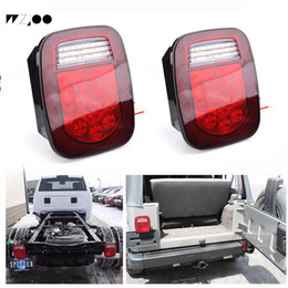 led trailer truck tail light NZ - Universal Truck Trailer 39 led 16led Brake Tail Light for Jeep Wrangler TJ CJ YJ JK trailers trucks SUVs RVs caravan boats