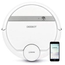 Smart Hair Australia - Official ECOVACS DEEBOT 900 Smart Robotic Vacuum for Carpet Bare Floors Pet Hair with Mapping Technology Higher Suction Power Wifi Connect