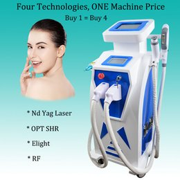 lips treatment Australia - 2019 Nd Yag Laser Lip Line Tattoo Removal Machine OPT SHR Machine fast permanent hair removal