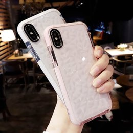 glitter case silicone NZ - For 2019 NEW Iphone 11 XR XS MAX X Case High Quality Soft Silicone Shockproof Cover Protector Crystal Bling Glitter Rubber TPU Clear case