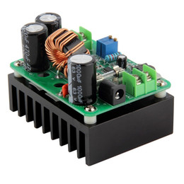 usb boost module UK - DC-DC 600W DC IN 10-60V OUT 12-80V Boost Converter Step-up Car Module Mobile Power Supply DC Module