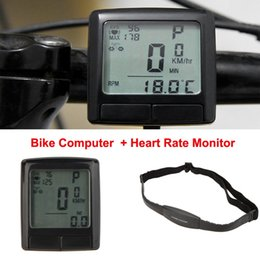 $enCountryForm.capitalKeyWord Australia - Sunding LCD Backlight Cycling Bike Bicycle Computer Odometer Speedometer with Wireless Heart Rate Monitor Tester Chest Strap #738189