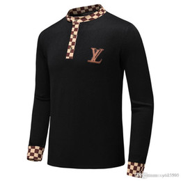 $enCountryForm.capitalKeyWord Australia - New Designer Sweater Pullover Men Brand Tops With Long Sleeve Crew Neck Cashmere Blend Embroidery Thin Wool Head Winter Mens Clothing #AA7