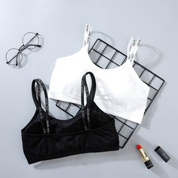 a968116cc4 2019 Female Strap Wrapped Chest Bra Striped Tube Top Women Seamless Padded  Bandeau Underwear Fashion Brassiere Sexy Tube TopsWomen Solid Bra