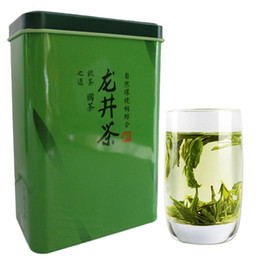 lake springs Canada - 180g Chinese Organic West Lake Longjing Dragon Well Aromatic Green Tea Early Spring New Scented Tea Green Food Gift Pack Preferred