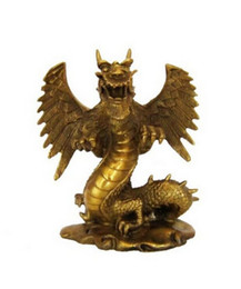 $enCountryForm.capitalKeyWord UK - NEW+ Copper dragon decoration copper crafts wings at home decoration