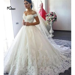 $enCountryForm.capitalKeyWord Australia - Hand customized 2019 New White Ivory Women Dress Spring Summer Sleeveless Off the Shoulder Lace Up Vestidos Wedding Dresses Plus size
