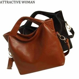 white leather handbags sale UK - Sales Promotion!2019 Russia Women's Leather Bag Big Shoulder Bags Women Messenger Bags Handbags Women Famous Brand Female Bag Y19062003