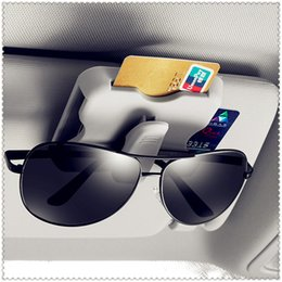 clip sun visors for cars Canada - Car Sun Visor Organizer Sun Visor Card Holder Glasses Clip For E34 F10 F20 E92 E38 E91 E53 E70 X5 M M3 E46 E39 E38 E90