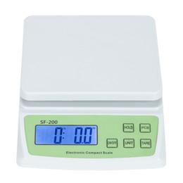 SF-200 10кг / 0.5G High Precision LCD цифровой Почтовая доставка по шкале Бесплатная доставка на Распродаже
