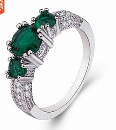 China 3pcs lots wholesale low price high quality diamond crystal jade women's ring size 5--10 (5tr suppliers