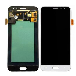 galaxy lcd screen UK - For Samsung GalaxyJ3 2015 J300F J300FN J300M J300H LCD Display Touch Digitizer Screen Assembly LCD Replacement