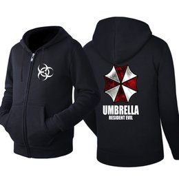 981c7d41fed Resident Evil Umbrella Hooded Cardigan Men Zipper Spring Autumn Hoodies  Long Sleeve Sweatshirts Male Jackets Tracksuit Casual Wear Clothes