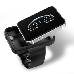 Wrist Watch Mp3 Mp4 Australia - I5S Mobile smart watch MP3 MP4 Player Sleep Monitor Pedometer built in Camera GSM SIM mini phone smartwatch for IOS Android
