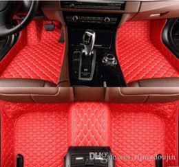 $enCountryForm.capitalKeyWord NZ - For Honda Civic 2016-2018 luxury custom waterproof car mat Waterproof Non-slip Carpets floor mat Non toxic and inodorous
