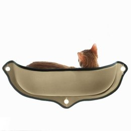pads suction cups UK - Beds & Sofas Blankets, Mats &Cat Window Mounted Cat Bed Hammock Sofa Mat Cushion Hanging Shelf Seat with Suction Cup