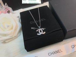 Letter D Pendant Australia - 925 Silver Luxuries Designers Jewelry Women Necklace S925 Brand Letter Stainless Steel Pendant Bijoux Boucles D Oreille De Marque De Luxe