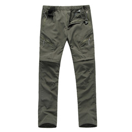 China RAY GRACE Light Weight Quick Drying Convertible Pants For Men Cargo Pants Shorts Hiking Hunting Fishing Outdoor Sports Trousers supplier fly short pants for men suppliers