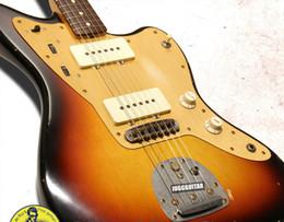 Custom shop reliC guitar online shopping - Custom Shop Masterbuilt Jazzmaster Relic by John English Sunburst Electric Guitar Anodized Gold Pick Guard slightly slim C shape Neck