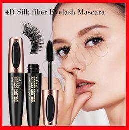 Figures Australia - EYE Makeup Macfee Heavy Full Figure 4D Silk Fibre Mascara Silicone Eyelash Brushes Waterproof Long Curling Mascara Long Lasting