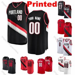$enCountryForm.capitalKeyWord NZ - Printed PortlandX Lillard TrailX CJ McCollum BlazerX Jusuf Nurkic Whiteside Bazemore Rodney Hood Little Collins Pau Gasol Basketball Jerseys