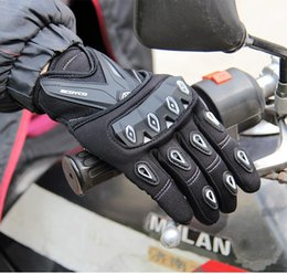 Bicycle Sales NZ - Hot sale New spring summer Scoyco MC10 full finger motorcycle gloves motorbike Electric bicycle gloves drop resistance