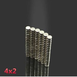 Neodymium Magnet Disc N35 Australia - 200pcs neodymium 4x2mm Disc Rare Earth Neodymium magnet 4*2 mm Super Strong Magnets 4mmx2mm N35 magnetic