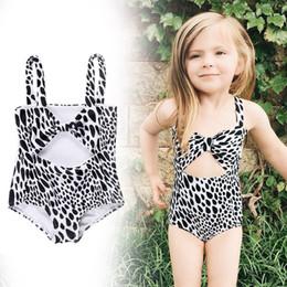 $enCountryForm.capitalKeyWord NZ - Baby Girls One-piece Leopard Print Swimsuit Toddler Girl Swimwear Infant Baby Swimsuits Children Bathing Swim Suit Kids Costume