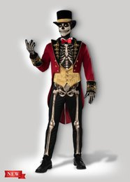 $enCountryForm.capitalKeyWord Australia - Lyjenny men's Skeleton Ringmaster Costume for Fancy Dress Cosplay Dress Costumes Halloween Christmas Party available in size S to XXL