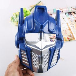 $enCountryForm.capitalKeyWord Australia - Children Optimus Prime Bumblebee Mask Cosplay Costume Huang Feng Masquerade Masks Party High Quality